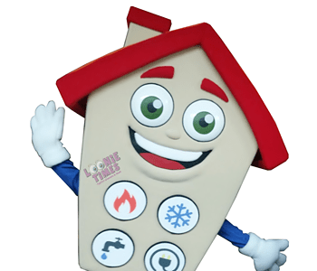 custom mascot costume | corporate mascot costume | custom small business mascot costume