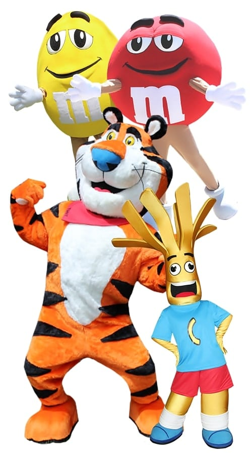 custom corporate brand mascot costumes