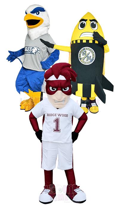 custom school mascot costumes