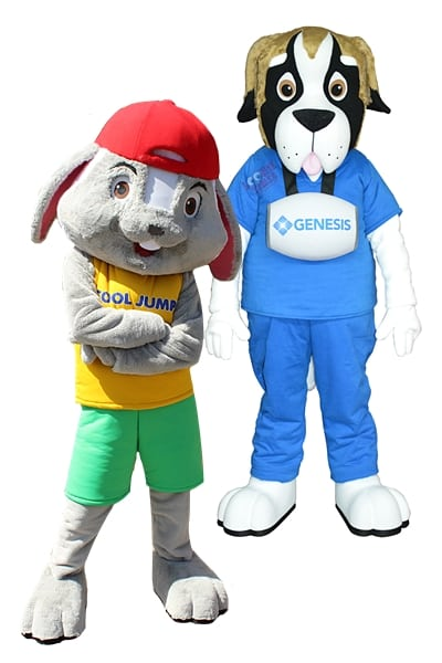 custom small business company mascot